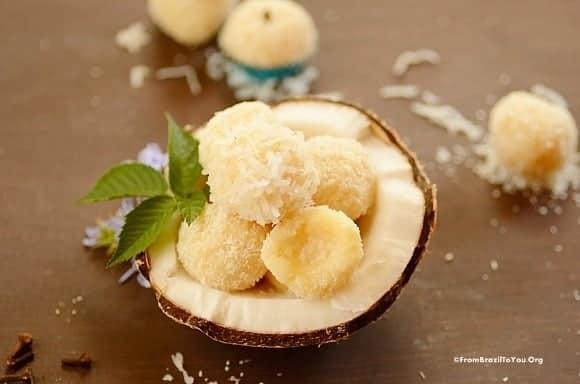 Brazilian Coconut Kisses (Beijinhos de Coco)