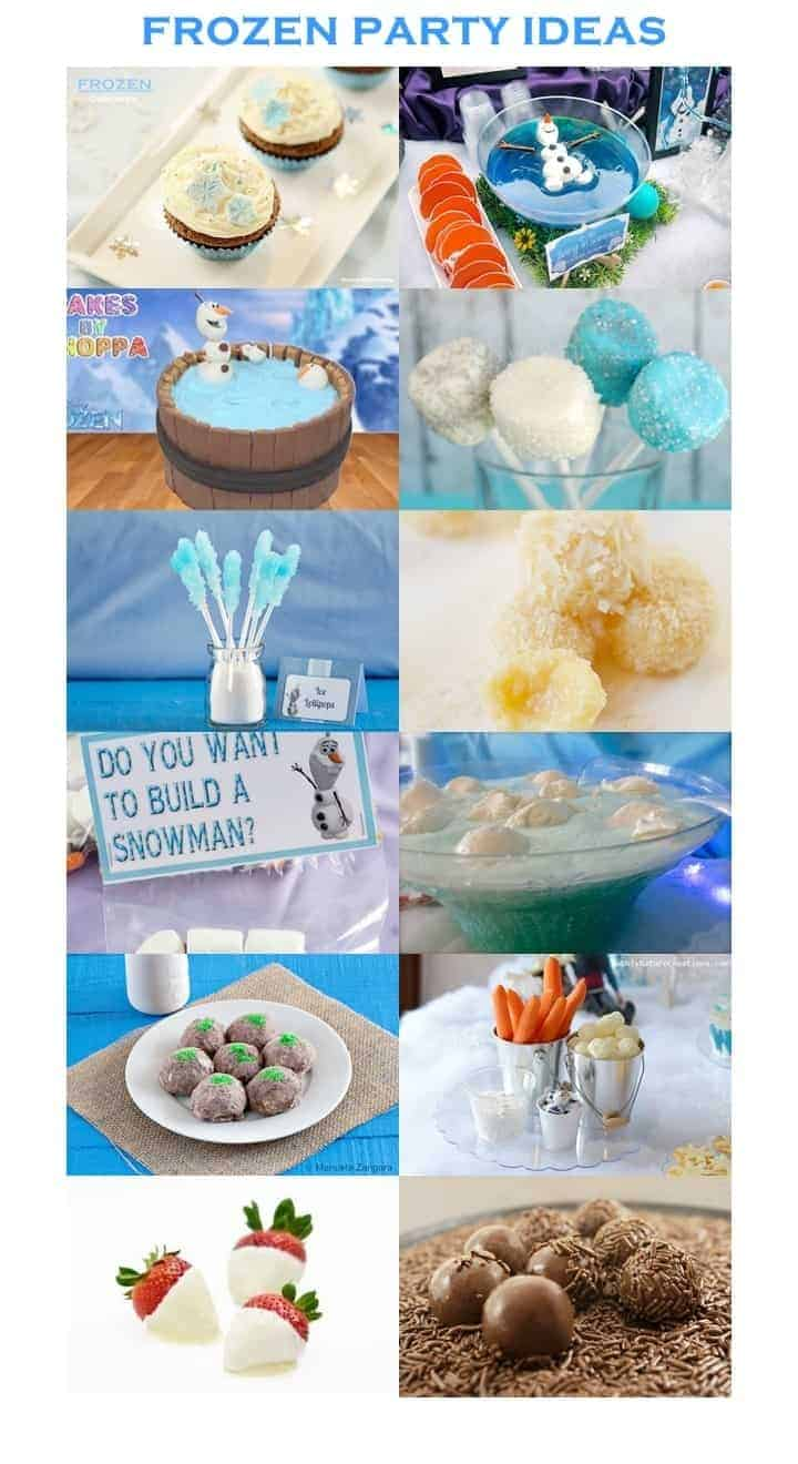FROZEN PARTY IDEAS (and Frozen Cupcakes)