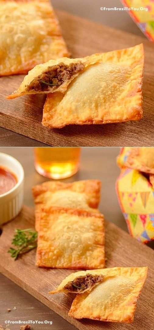Quick Fried Beef Empanadas (Pastel de Carne Rápido) - From Brazil To ...