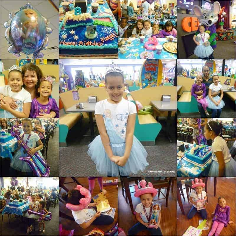 Hannah's 8th Birthday Frozen Themed Party...