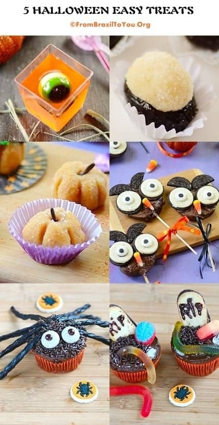 5 Halloween Easy Treats