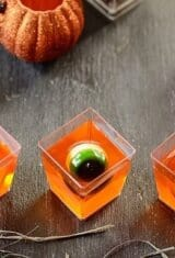 Halloween Creepy Jello Cups