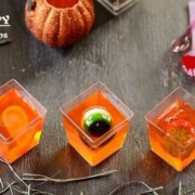 Creepy Jello Cups