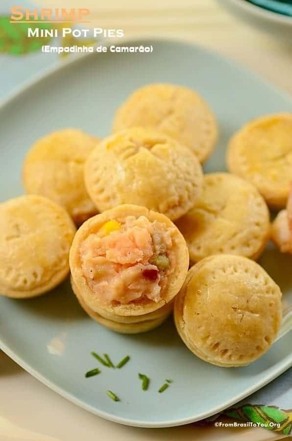 Shrimp Mini Pot Pies (Empadinha de Camarão)