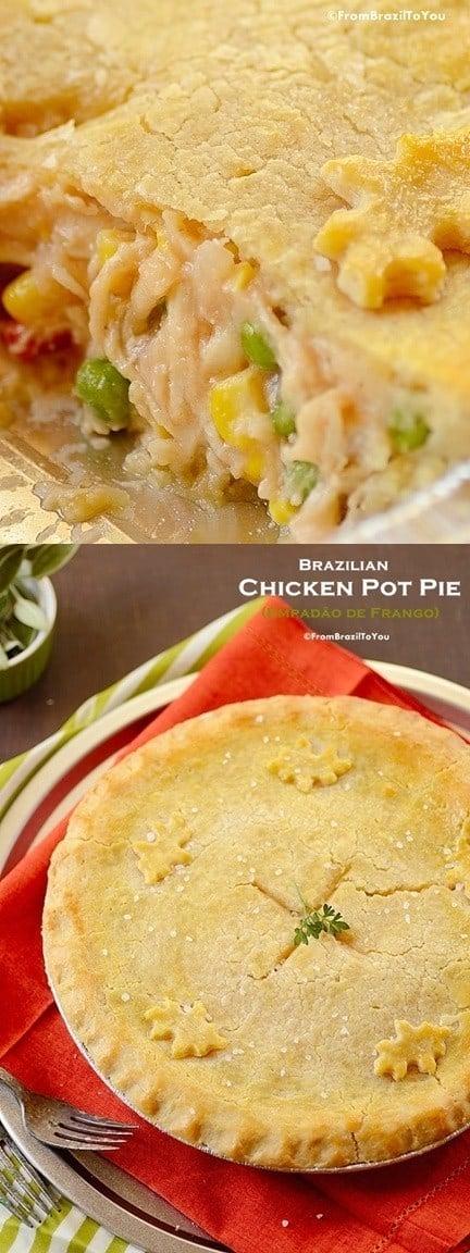 Empadão de Frango (Brazilian Chicken Pot Pie)