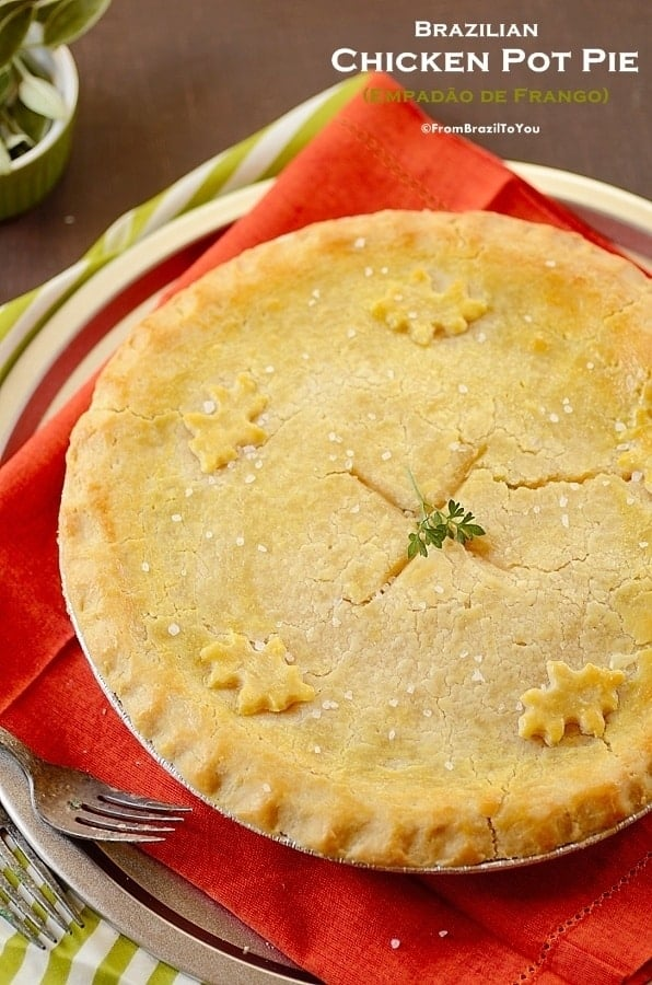 Empadão de Frango (Brazilian Chicken Pot Pie)