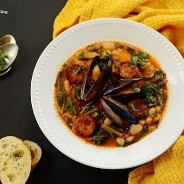 Mussel-Chorizo-and-White-Bean-Stew
