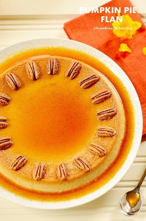 ... flan pumpkin leche flancreme pumpkin leche flan picture1 pumpkin leche