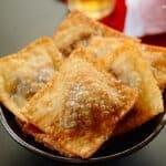 Quick-feijoada-empanadas , Pastel frito