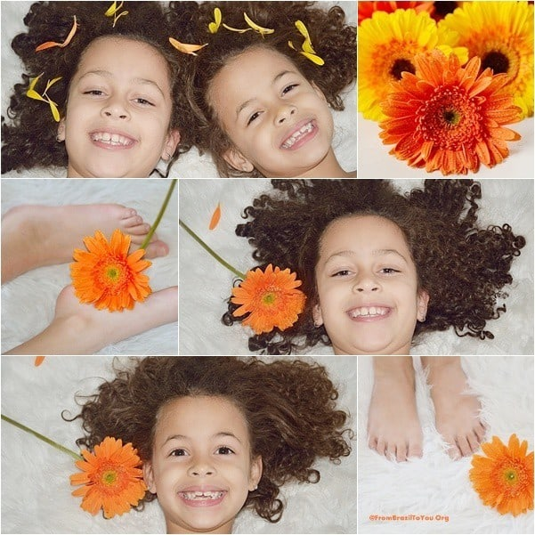 My daughters' photo shoot