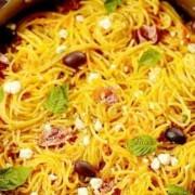 carrot-spaghetti-prosciutto-goat-cheese