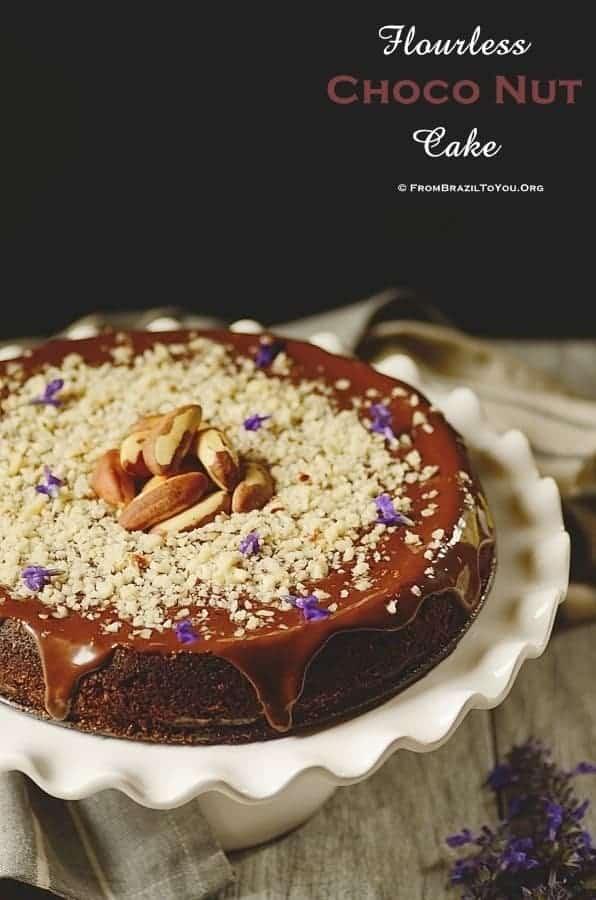 Flourless Choco Nut Cake