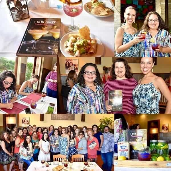 LATIN TWIST book signing event in San Antonio, TX