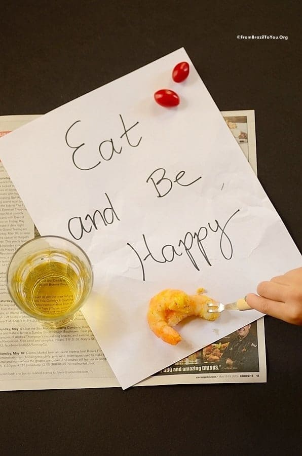 Eat and Be Happy!