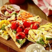 grilled-vegetable-pizza