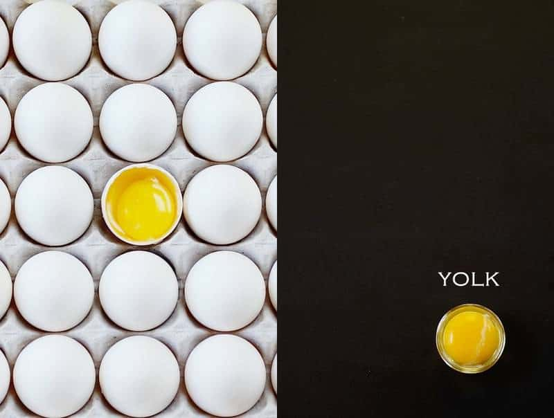 Eggs and yolk by Denise Browning -- www.frombraziltoyou.org