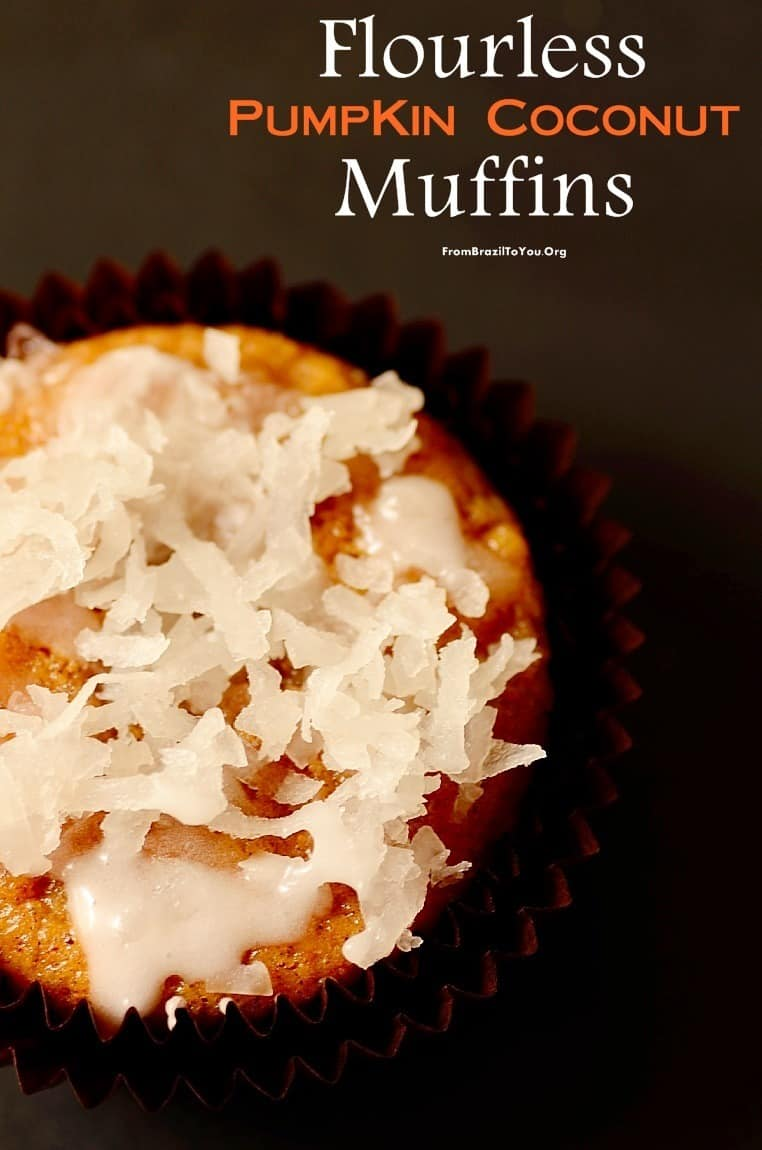 Flourless-pumpkin-coconut-muffins