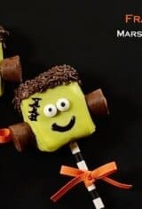 Adorable Frankenstein Marshmallow Pops & Other 5 Treats