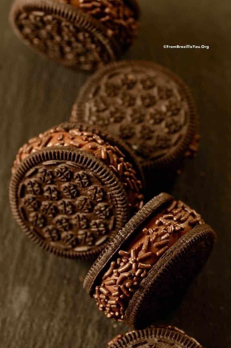 Brigadeiro Cookies -- Biscoito Brigadeiro