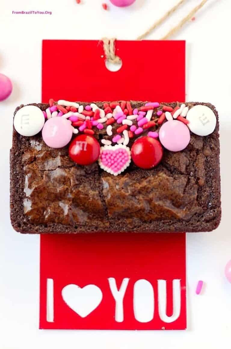 Love Letter Brownies