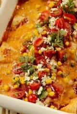 Flatbread Ham and Cheese Brazilian Enchiladas