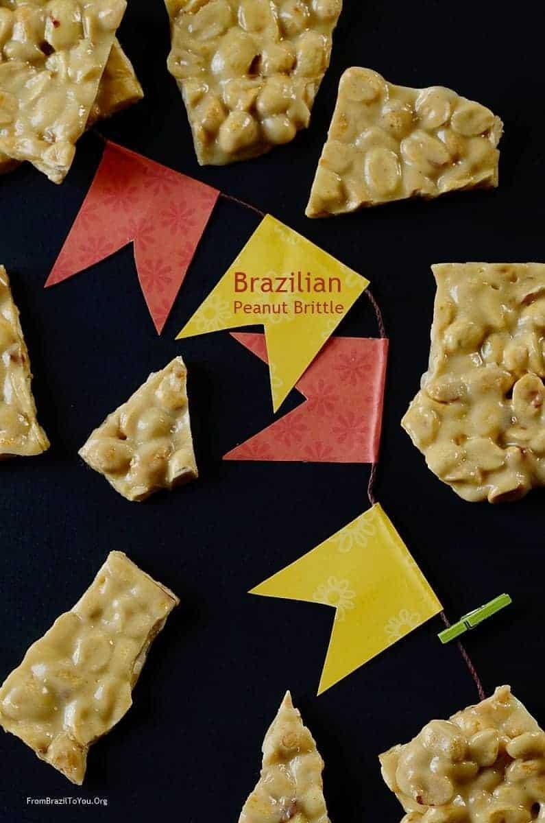 Brazilian Peanut Brittle -- Pé de Moleque (4)