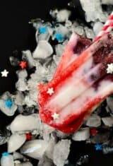 Berry Coconut Yogurt Popsicles (Patriotic Fruit Popsicles)