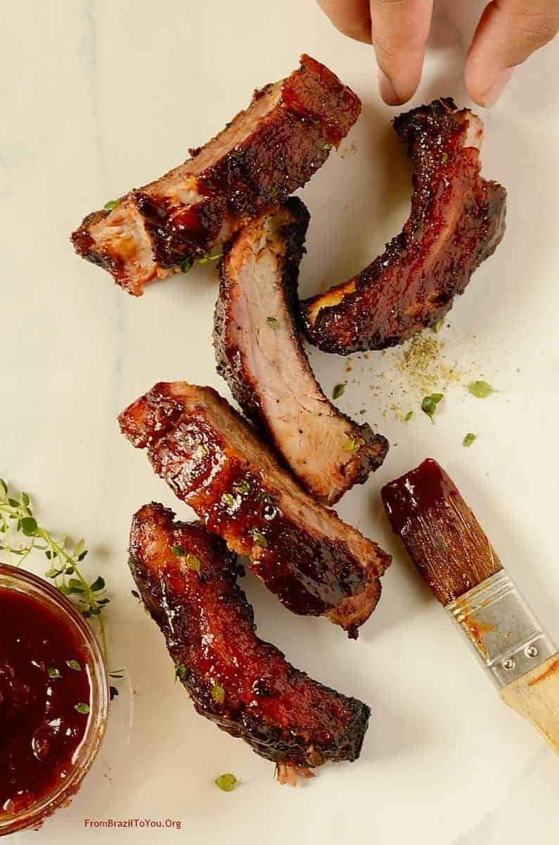 Red Wine Barbecue Por Ribs (4)