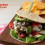 Beef-and-bulgur-wheat-cheeseburger, Kibbeh-cheeseburger, kibe-x-tudo