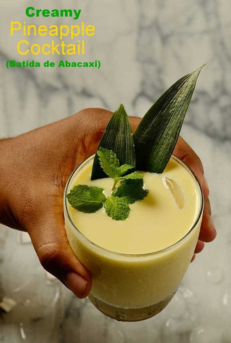 Creamy-pineapple-coconut-cocktail