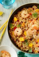 Easy Shrimp Coconut Fried Rice and a $100 Giveaway