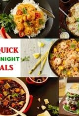 12 Quick Weeknight Meals to Make Dinner Easier