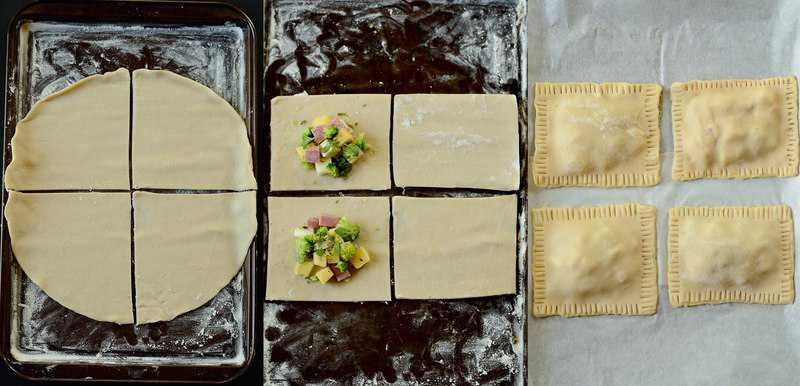 making-broccoli-ham-and-cheese-pop-tarts
