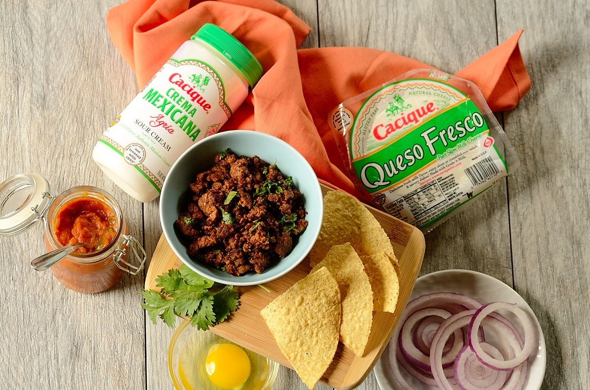 ingredients-for-beef-chilaquiles-with-pumpkin-jalapeno-salsa