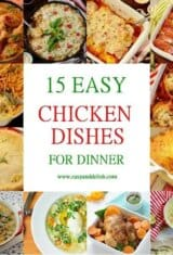15 Easy Chicken Dishes for Dinner