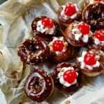 Black-forest-pancake-donuts