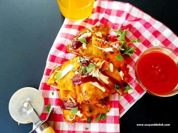 BBQ-Chicken-Pizzadilla
