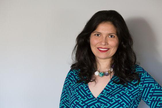Pilar Hernandez smiling for the camera