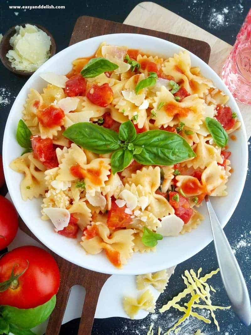 The Recipe For Today Along With Many Other Superb Pasta Recipes And Of Course Flavorful Sauces To Pair Them Like Todays Tomato Basil Sauce