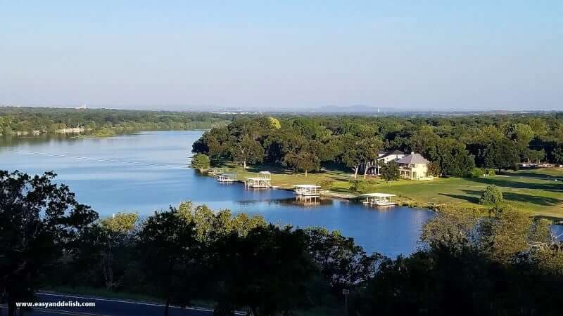 a lake in Austin, Texas