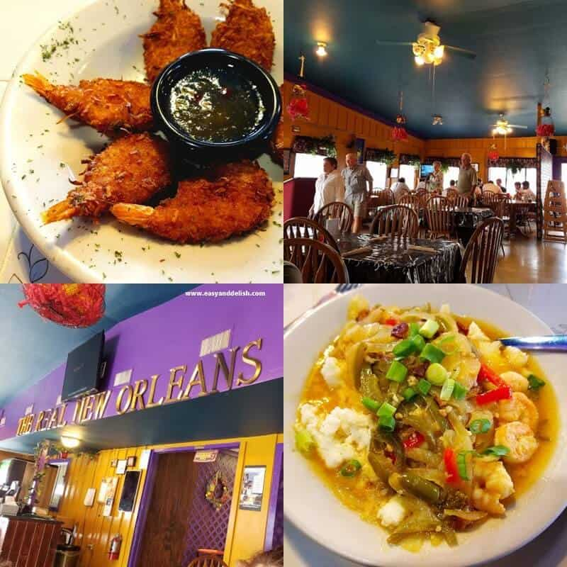 A NOLA restaurant in Marble Falls (collage)