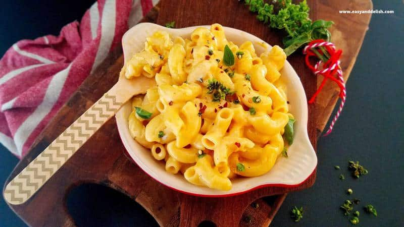 Microwave-mac-and-cheese, One-bowl-mac-and-cheese