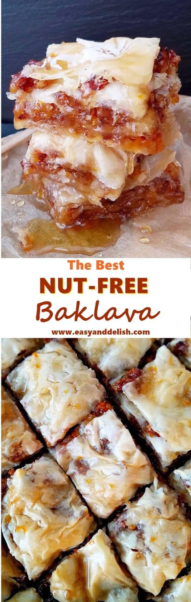 Nut-free-baklava
