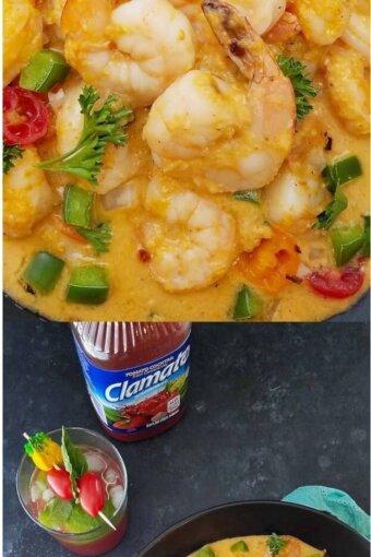 One-pot-Brazilian-shrimp-stew, Ensopado-de-camarao
