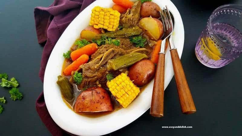 Instant Pot Beef Short Rib Pot Roast Cozido Pernambucano Com Costela Na Press 227 O Easy And Delish