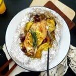 Keto Mediterranean Chicken Foil Packets