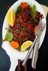 Pan-fried-barbecue-pork-chops