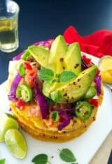 Fiesta Queso Burger Tostadas & Sweepstakes