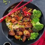 Better-Than-Takeout Chicken Wonton Stir-Fry Power Bowl