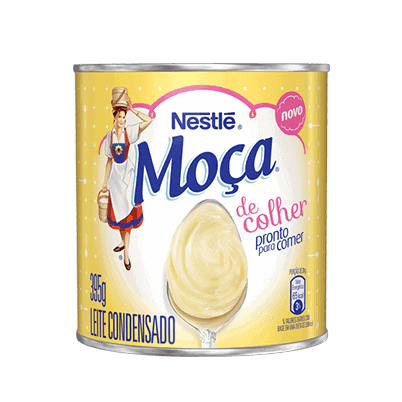 A can of sweetened condensed milk